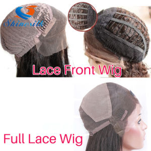 Wholesale Kinky Straight Brazilian Virgin Hair Wig Full Lace Wig pictures & photos