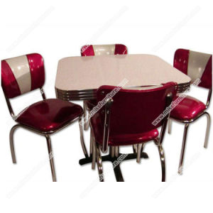Whole Retro 50s Diner Table Furniture Set Restauant And V Shape Vinyl