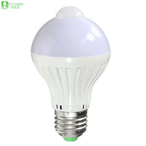 5W Infrared Human Sensor LED Bulb Lights pictures & photos