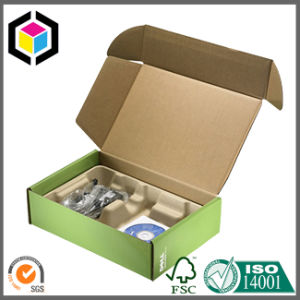 Full Color Print Collapsible Corrugated Paper Carton Shipping Box