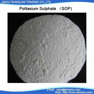 Sop K50%--Potassium Sulphate Powder with Best Price From Chinese Manufactures pictures & photos
