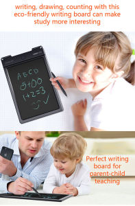 Kids Drawing Erasable Writing Pad with Stylus Pen