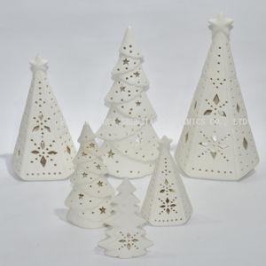 White Ceramic Christmas Tree.White Ceramic Christmas Tree Candle Holder Xmas Gift Christmas Gift