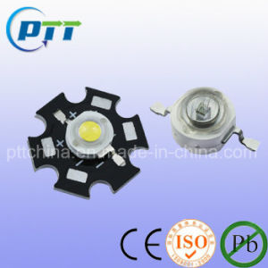 1W Green Color High Power LED, 80-90lm, 1W 3W All Available at 350mA or 700mA pictures & photos