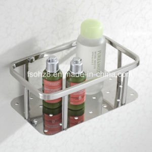 Hot Sale Wall Mounted Shampoo Basket Rack for Bathroom (6005) pictures & photos