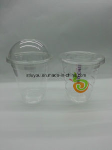 9/12/16/20/24oz Disposable Pet Transparent Plastic Cup