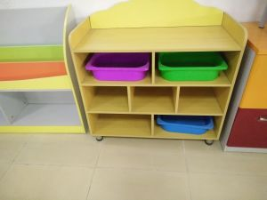 Wooden Colorful Children Cabinet for Sale (SF-120C) pictures & photos