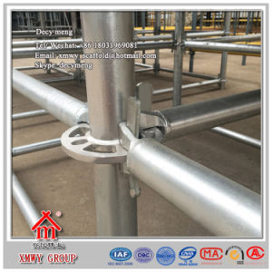 Safe SGS Qualified Ringlock Scaffolding System for Decoration