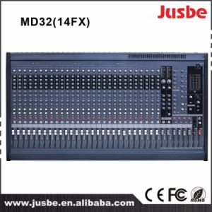 Mixing Console MD24/14fx Sound DJ Audio Mixer pictures & photos