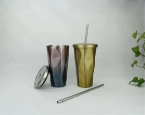 Hot High Quality Straight Stainless Steel Straw Mug pictures & photos