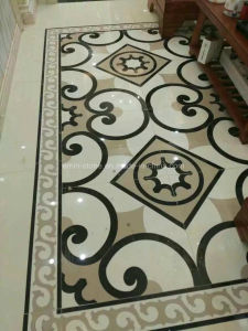 Water-Jet Floor Tile Parquet Nano Crystallized Glass Home Decoration pictures & photos