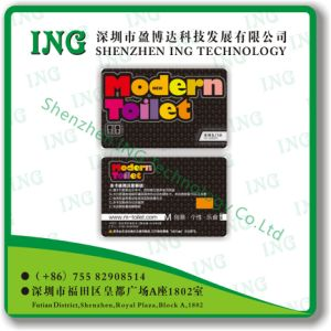 PVC Smart ID IC Parking Menber VIP Card