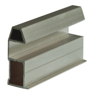 Golden Aluminium Profile for Cabinet Frame Material pictures & photos
