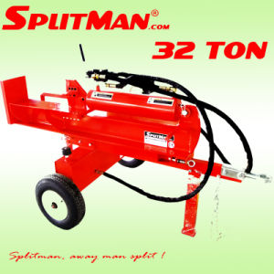 Log Splitter 32 Ton 520mm pictures & photos