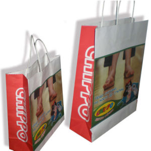 Luxury Recycled Kraft Paper Bags pictures & photos