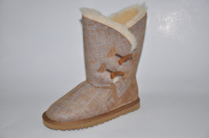 Bonnie Women′s Sheepskin Fashion Boot