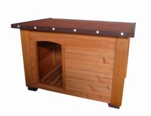 Flat Roof Dog House (D6074)