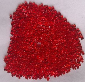 Red Glass Beads for Building Walls and Swimming Pools