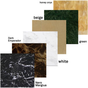 Polished Natural Red / White / Black / Green / Grey Stone Marble for Floor pictures & photos