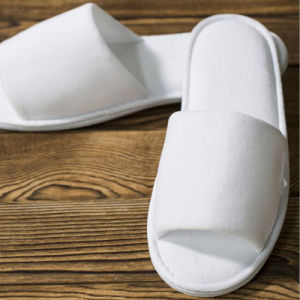 Best Sale Open Toe Hotel EVA Disposable Slipper Hotel Slipper pictures & photos