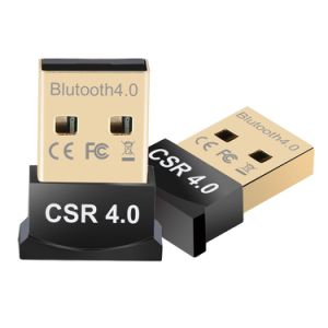Bluetooth Bt CSR 4 0 USB Dongle Single Mode for Laptop PC Support Windows  10/8/7/Vista/XP, Mouse and Keyboard, Headset