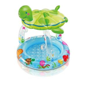 Sea Turtle Shade Inflatable Baby Swimming Pool Water Wading Pool