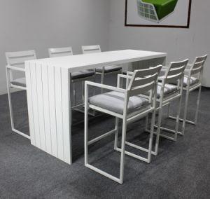 Aluminum Frame Bar Dining Table