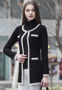 Ladies′ Fashion Cashmere Sweater (1500002065) pictures & photos