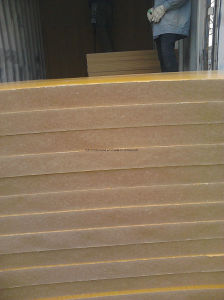 Plain MDF Melamine MD Fwith The Size (1220X2440mm) pictures & photos