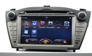 Hyundai IX35 Pure Android 4.0 Car DVD with 5-Point Capacitive Touch 1024X600 HD LED Screen GPS Bluetooth 2g DDR3 RAM Steering Wheel Control