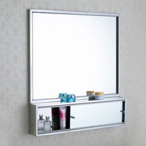 Cosmetic Display Cabinet With Double Sliding Doors (A4681 BK)