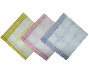 100% Cotton Woven Lady Handkerchief/Lady Hanky pictures & photos