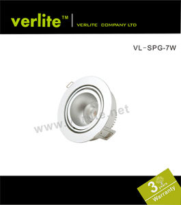 7W LED Gimbal Spot Light with Dimmable Driver