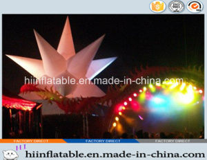 2015 Hot Selling Decorative LED Lighting Inflatable Star 0039 for Event, Celebration