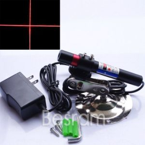 Focusable 648nm 650nm 100mw Red Laser Module Cross Laser Module with Mount+ Adapter