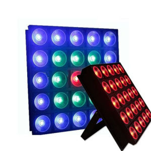 DJ/Disco/Party 25* 9W LED Matrix Beam Wash Stage Panel Lighting pictures & photos