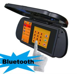 High Definition Bluetooth Handsfree 7 Inch GPS Mirror Navigation