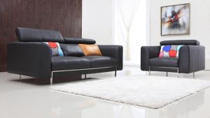 Original Modern Leather Sofa (MM3A44)