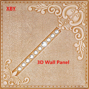 PU Leather Panel 3D Wall Panel Decorative Wall Panel pictures & photos
