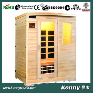 2014 Kl-3sf New Luxury CE Certification Indoor Far Infrared Carbon Heater Good Sauna Cabin