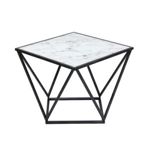 China Contemporary Small Square Faux Marble Coffee Table China