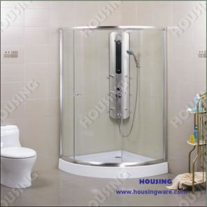 Corner Sliding Glass Shower Room
