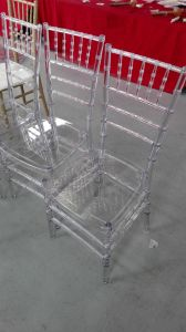Wedding Clear Resin Chiavari Chair with Cushion pictures & photos