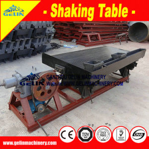 Shaking Gold Concentrate Table for Gold/Zircon/Tin Ore Separator pictures & photos