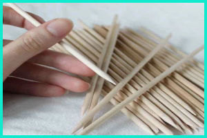 Wholesale Nail Care Tools And Equipment Orangewooden Stick