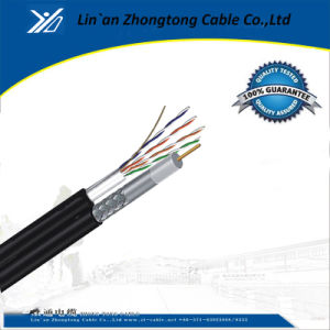 RG6 Coaxial Cable with Cat5