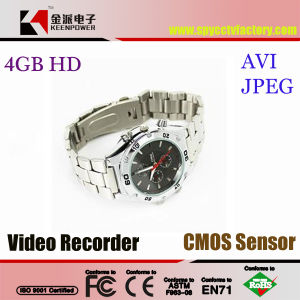 Waterproof Watch Camera with Fashion Design Built-in 4GB pictures & photos