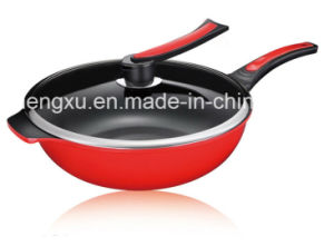 Pure Iron Non-Stick No-Oil Smoke Pure Iron Wok Sx-Jny008