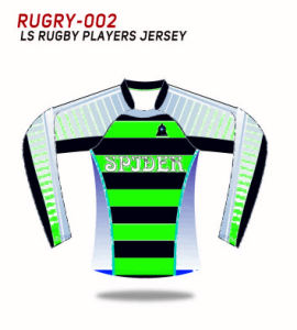 Spidersports Long Sleeves Custom Sublimation Rugby Teamwears