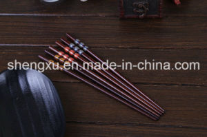 Nice Design Chinese Wood Bamboo 24cm Length Chopsticks Sx-Cc011